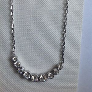New Fossil Stainless Steel Silver Necklace